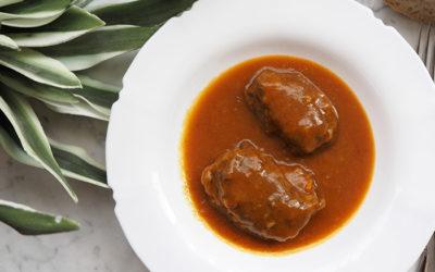 Carrilleras de cerdo en salsa