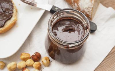 Crema de cacao y avellanas