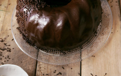 Bundt Cake de triple chocolate y patata